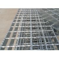 Buy cheap Galvanised Flat Bar Serrated Steel Grating Platform Steel Floor Grating from wholesalers