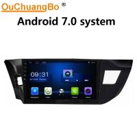 Wholesale Ouchuangbo car digital screen gps navi radio for Toyota Levin 2014 with USB SWC 1080P Video BT android 7.0 system from china suppliers