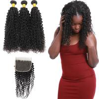 Wholesale 8A Real Peruvian Human Hair Extensions Kinky Curly , Peruvian Silky Straight Hair from china suppliers