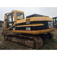 China Used Caterpillar crawler excavator USA made CAT 320B 20 tonnage with 3066T engine for sale