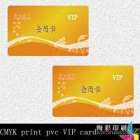 Wholesale Restaurant Barcode PVC Business Cards / Membership VIP Club Card from china suppliers