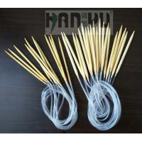 Wholesale Nature color CIRCULAR Bamboo Knitting Needles china manufacturer from china suppliers
