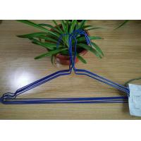 China Multi Color Powder Coating Hangers / Metal Wire Hangers 1.8 - 2.5mm Thickness on sale
