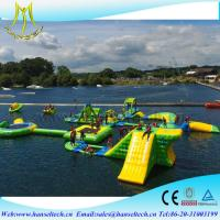 China Hansel large inflatable floating water park pool toy on sale