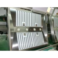 Wholesale Commercial Gas Stove Stainless Steel Baffle Filter Range Hood / kitchen extractor hood from china suppliers