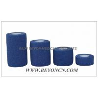 Wholesale Blue Elastic Knee Bandage Hand Tear For Wound Care Control Edema and Hematoma from china suppliers
