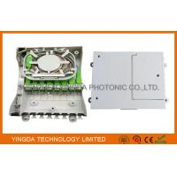 Buy cheap Fiber Optic Termination Box With Splitter 1X8 PLC And 8 Coupler SC/APC Auto Shutter Type from Wholesalers