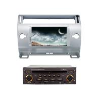 China 2 din car dvd player with bluetooth wifi gps citroen c4 old c-quatre c-triumph for sale