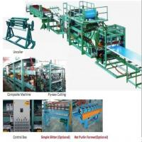 Buy cheap 32KW 380v Sandwich Panel Production Line Foam Composite Board Roll Forming from wholesalers