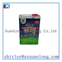 Quality 5L tin can for cooking oil for sale