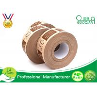 Wholesale Hot Melt Masking Kraft Packaging Tape Roll , PE Coated Kraft Paper from china suppliers