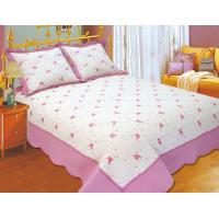 Wholesale 100 Percents Polyester Embroidery Quilt Kits 220x240 / 240x260cm Large Sizes from china suppliers