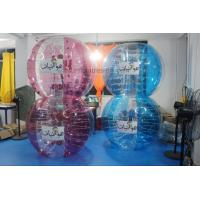 Wholesale Adult Red Buddy Bumper Ball , Blue Human Inflatable Bumper Bubble Ball Logo Printed from china suppliers