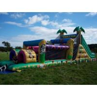 Wholesale Children Inflatable Obstacle Course Run EN14960 Huge Jungle Inflatables from china suppliers