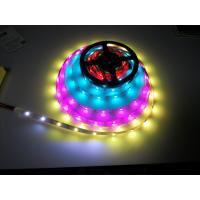 IP65 Waterproof HD107s LED Flexible Strip Lights 5050 RGB DC5V Individually Addressable for sale