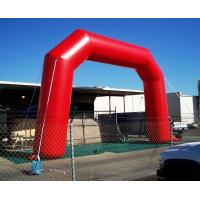 Wholesale Red Color Inflatable Advertising Products PVC Inflatable Arch for Entrance from china suppliers