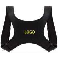 Amazon Hot selling Black Back Posture Corrector Brace with FDA CE Approved for sale