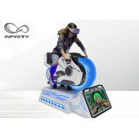 Wholesale Children Attraction Amusement Park 9D VR Simulator / VR Motorbike Racing Simulator from china suppliers