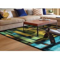 Wholesale Personalized Printed Indoor Area Rugs With Flower Dots Backing Eco-friendly from china suppliers