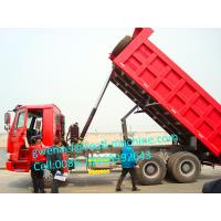 Wholesale Tri Axles Front Lifting Tipper Heavy Duty Trucks Right Hand Driving 336 HP from china suppliers