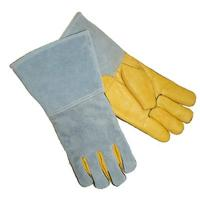 Buy cheap Safety cow grain leather welding gloves ZM710-G from wholesalers