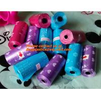 Wholesale Roll, Black, Pet Poop Bags, Dog, Cat, Waste, Pick Up, Clean Bag, a Roll of 20 Bags, pooper from china suppliers