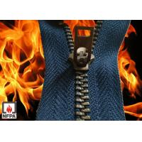 Buy cheap Aramid Flame Resistant Zipper, aramid tape, brass tooth or vislon FR tooth from wholesalers