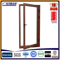 Wholesale aluminium glass casement swing and hinged doors from china suppliers