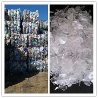 Professional Waste Bottle Plastic Recycling Line , Durable Pet Recycling Line for sale
