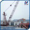 8000 kg Derrick Crane 1840 Models Fixed Roof Floor Lifting Material for sale