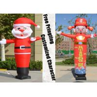 Wholesale Desktop Blower Inflatable Tube Man Father Christmas shape Height 3m from china suppliers