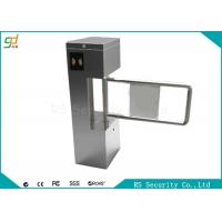Quality Stainless Steel Single Side Swing Barrier Gate With IR Sensor Control for sale