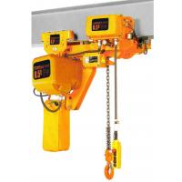 Wholesale Lifting Height 6-8m Low Headroom 3 Ton Electric Chain Hoists EHK-L Type from china suppliers