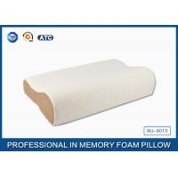 Wholesale High Density Slow Recovery Cervical Memory Foam Contour Pillow With Soft Cover from china suppliers