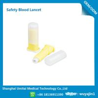 China Convenient Disposable Blood Lancet Medical Tool With CE / ISO Certification on sale