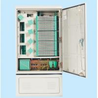 Wholesale 288 CORES Outdoor Fiber Cabinet Flame - Retardant Material IP65 Protection Grade For Network from china suppliers