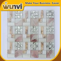 Wholesale 8mm Mirror Mosaic Tiles Sea Shell Blend alkali-proof OEM from china suppliers