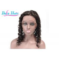Wholesale Black Women Red / Blue Human Hair Lace Front Wigs Without Tangle / Shedding from china suppliers