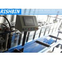 Wholesale 12 Stations , 70 mm Roller Cold Roll Forming Machine 126mm width with Fly Saw Cutting System from china suppliers