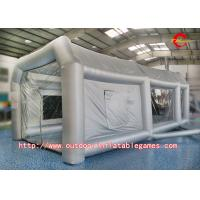 Wholesale Durable Inflatable Tent Spray Paint Booth Tent For Car Garage With Air Blowe from china suppliers