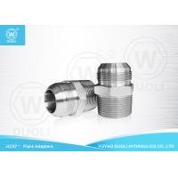 China BSPT Male JIC Hydraulic Flared Fittings Adapter With 37 Degree Conical Seals on sale