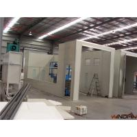 Quality High Efficiency Filter  Industrial Spray Booths 50000m3/h ISO 9001 for sale