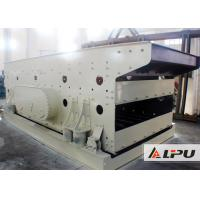 China 3 Layer Elliptical Vibrating Screening Machine With Rubber Mesh on sale
