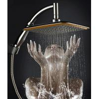 Wholesale China Ningbo cixi  factory 9-inch handheld-head shower with two functions one as hand shower and other head shower new from china suppliers