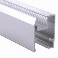 Wholesale PVDF Painted Black Aluminum Window Extrusion Profiles , Bathroom Aluminum Sliding Windows from china suppliers