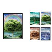 Wholesale Natural Scener And Animal Style Flip 3D Lenticular Pictures 30*40cm For Home Decro from china suppliers