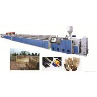 Wholesale PVC Wood Plastic WPC Profile Extrusion Line Double Screw Extruder from china suppliers