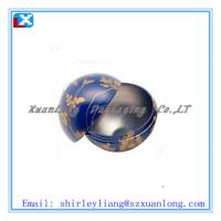Wholesale Round tin cans,ball shape tin box for christmas from china suppliers