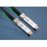 Wholesale Active Insulated QSFP + direct attach copper cable QSFP - H40G - ACU10M from china suppliers