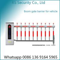 Quality Anti Smashing Parking Lot Electric Boom Barrier Gate Operator 3-6m Arm Length for sale